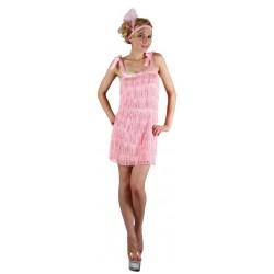 Déguisement Femme des Années 20 Charleston Rose - Costume Charleston Femme The Duck