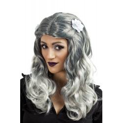 Perruque de Zombie grise Femme
