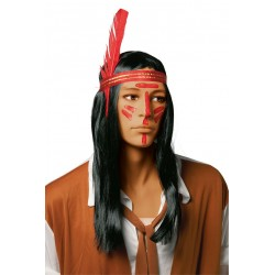 Perruque d'Indienne à tresses Homme