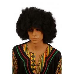 Perruque Big Afro Noir Adulte - Déguisement afro adulte The Duck
