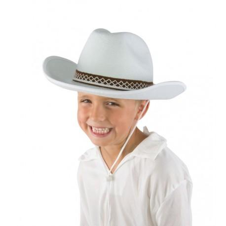 Chapeau de Cow Boy Enfant feutre - Déguisement Cow Boy Enfant The Duck