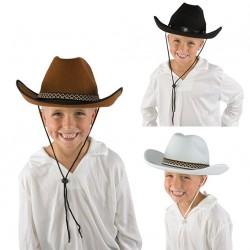 Chapeau de Cow Boy Enfant feutre