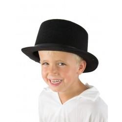 Chapeau Haut de Forme Enfant feutre noir
