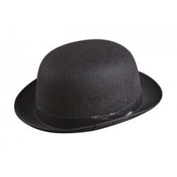 Chapeau Melon Adulte feutre noir