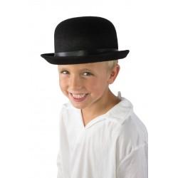 Chapeau Melon Enfant feutre noir