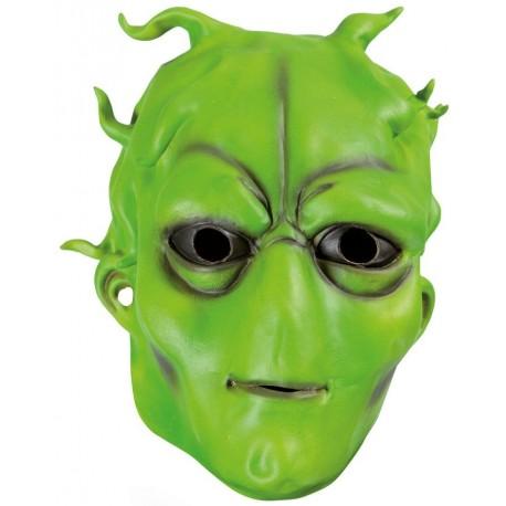 Masque d'Extra-Terrestre Vert Adulte - Déguisement extra terrestre adulte Science Fiction The Duck