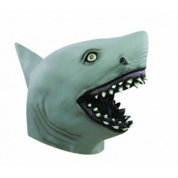 Masque de Requin Gris Adulte - Déguisement requin Adulte animaux - Costume requin adulte The Duck