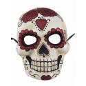 Masque Day of the Dead Adulte papier maché