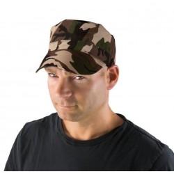 Casquette de Militaire Adulte camouflage