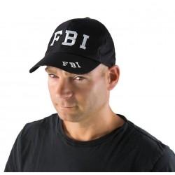 Casquette FBI Adulte noir