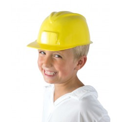 Casque de Chantier Enfant jaune