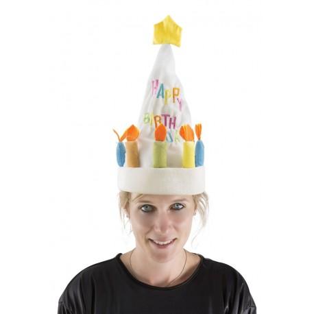 Chapeau gâteau d'Anniversaire Adulte - Déguisement anniversaire Adulte The Duck