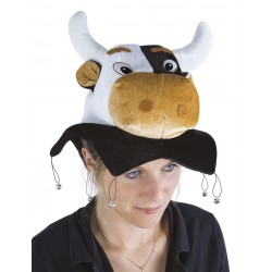 Chapeau de Vache Adulte - Déguisement vache adulte animaux The Duck