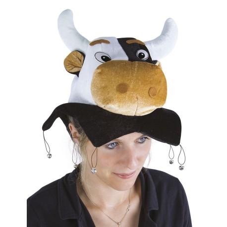 Chapeau de Vache Adulte - Déguisement vache adulte animaux The Duck