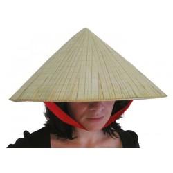 Chapeau de Paille Vietnamien Adulte - Déguisement Vietnamien Adulte Asie The Duck