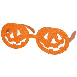 Lunettes Citrouille Orange Adulte - Déguisement Citrouille Adulte Halloween The Duck