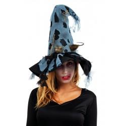 Chapeau de Sorcière avec rat Femme
