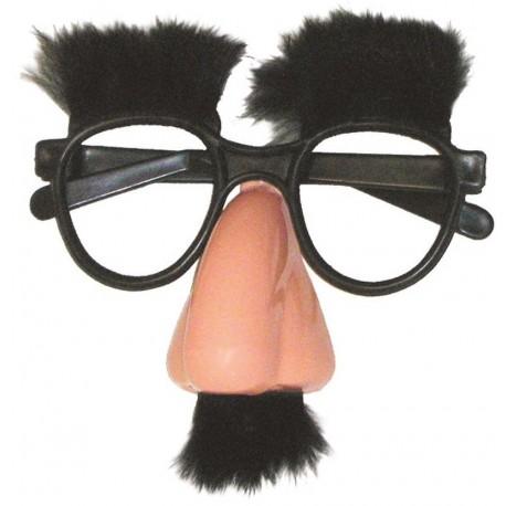 Lunettes Groucho Adulte - Déguisement humoristique Adulte Carnaval The Duck