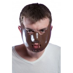 Masque de Psychopathe Adulte Marron