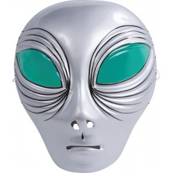 Masque d'Alien Gris Enfant - Déguisement alien enfant halloween the duck