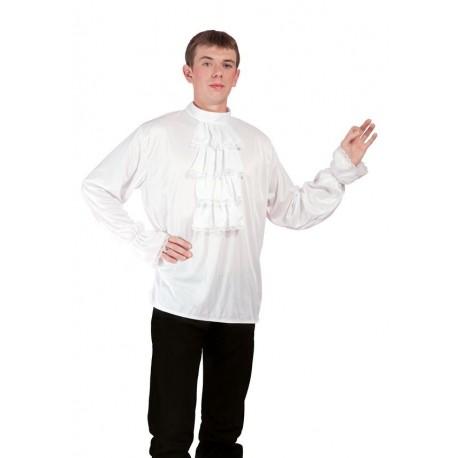 Chemise Blanche à Jabot Adulte - Déguisement charleston adulte année 20 The Duck