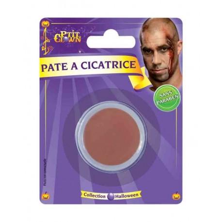 Pâte à cicatrice zombie - déguisement maquillage halloween pâte à cicatrice the duck