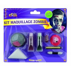 Kit de Maquillage de Zombie - Déguisement zombie adulte halloween maquillage the duck