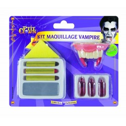 Maquillage de Vampire Halloween - Déguisement maquillage halloween vampire the duck