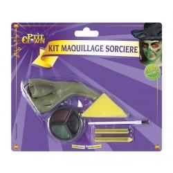 Kit de Maquillage de Sorcière Halloween