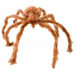 Araignée Géante marron en Peluche 80 cm
