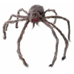 Araignée Géante grise en Peluche 60 cm