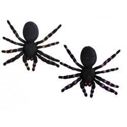 Araignée Floquée 20cm