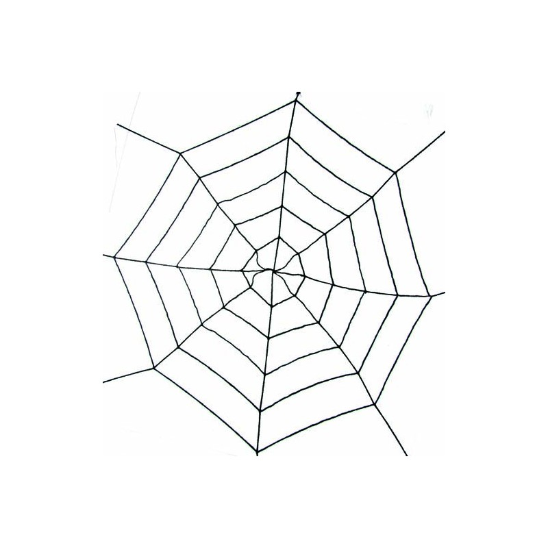 toile d araign e g ante extensible noire 180 cm guirlandes sur the. Black Bedroom Furniture Sets. Home Design Ideas