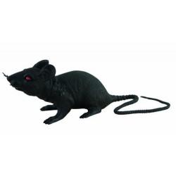 Rat en plastique Noir