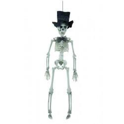 Squelette de Marié 40cm - Décoration Halloween squelette the duck