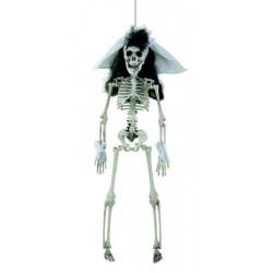 Squelette de Mariée 40cm - Décoration halloween squelette the duck