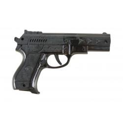 Pistolet d'Espion Noir 21 cm - Déguisement espion pistolet the duck