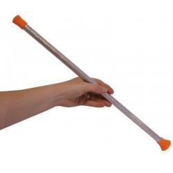Bâton de Majorette Argenté 50 cm