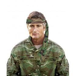 Bandeau de Soldat Camouflage Adulte - Déguisement militaire carnaval the duck