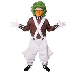 Déguisement de Umpa Lumpa Enfant - Costume charlie et la chocolaterie the duck