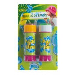 Tubes de Bulles de savon - Lot de 2