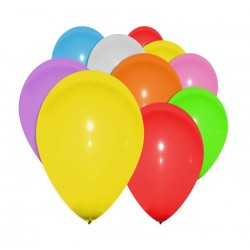Ballons multicolore lot de 100 - Décoration ballon de baudruche latex the duck