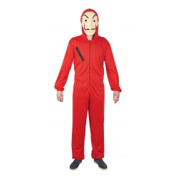 Déguisement de Casa de Papel Rouge Adulte - Costume série tv casa de papel the duck
