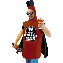 Déguisement de Whisky Man Marron Adulte