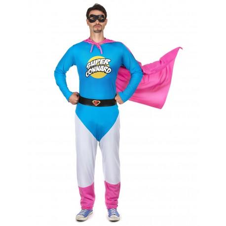 Costume de Super Connard Bleu Adulte - Déguisement humour adulte the duck