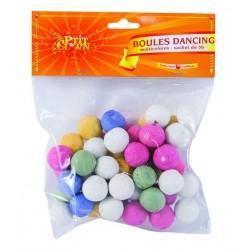 Boules Dancing Multicolores - Sachet de 50