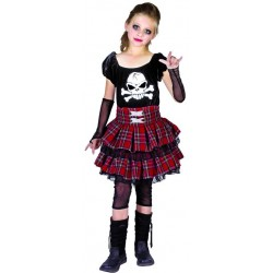 Déguisement de Punk Fille - Costume halloween enfant the duck