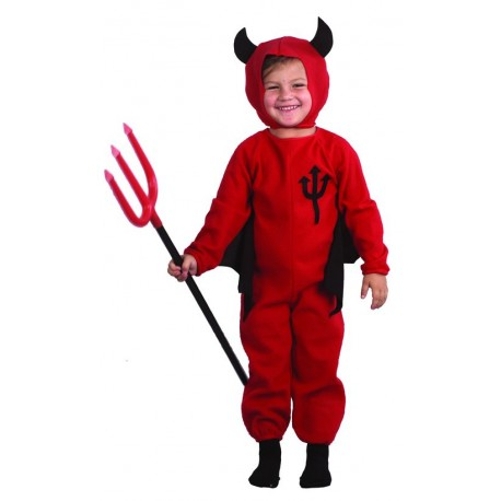 Déguisement de Diable Rouge Bébé - Costume diable halloween enfant the duck