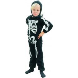 Déguisement de Squelette Noir & Blanc Enfant
