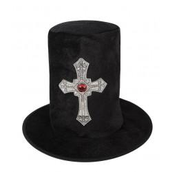 Chapeau Haut de Forme de Seigneur Vampire Adulte